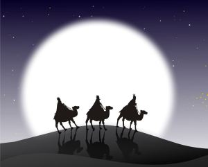 The Wise Men seek the King