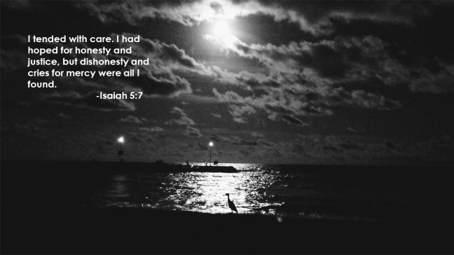 Isaiah 5 7